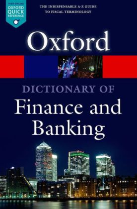 Oxford Dictionary of Finance and Banking   Dodax.de
