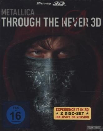Metallica - Through The Never 3D + 2D (Steelbook), 2 Blu-rays | Dodax.de