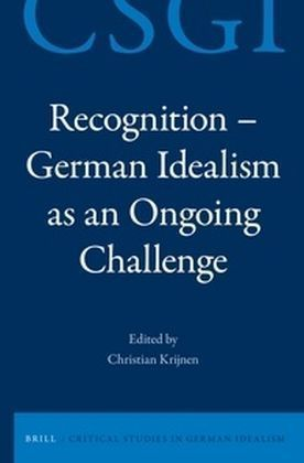 Recognition - German Idealism as an Ongoing Challenge | Dodax.at