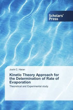 Kinetic Theory Approach for the Determination of Rate of Evaporation   Dodax.ch