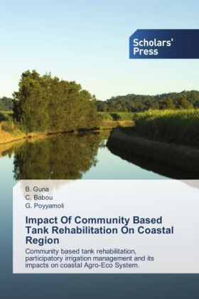 Impact Of Community Based Tank Rehabilitation On Coastal Region | Dodax.ch