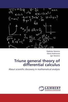 Triune general theory of differential calculus | Dodax.at