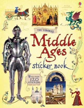 The Usborne Middle Ages Sticker book | Dodax.ch