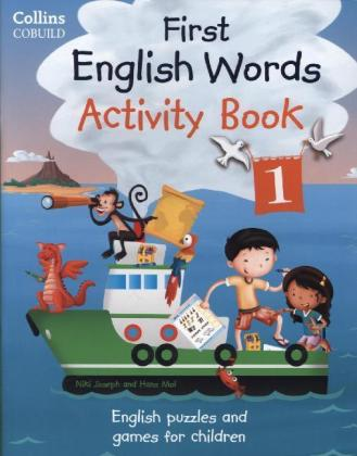 First English Words Activity Book. Pt.1 | Dodax.at