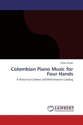 Colombian Piano Music for Four Hands | Dodax.pl