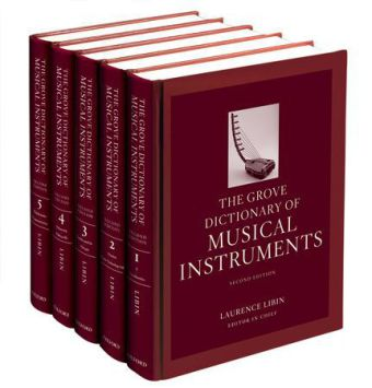 The Grove Dictionary of Musical Instruments | Dodax.pl