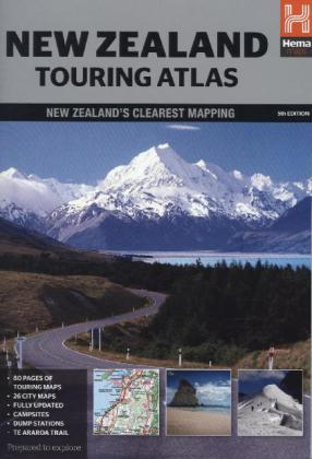 Hema Touring Atlas New Zealand | Dodax.ch