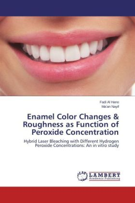 Enamel Color Changes & Roughness as Function of Peroxide Concentration | Dodax.ch
