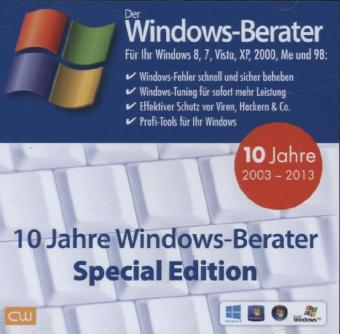 10 Jahre Windows-Berater - Special Edition 2003-2013, CD-ROM | Dodax.ch