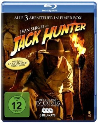 Jack Hunter Box, 3 Blu-rays | Dodax.de