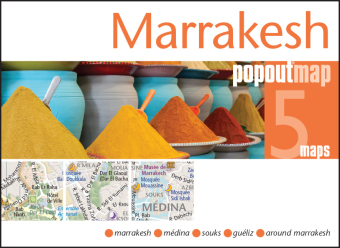 Marrakesh PopOut Map, 5 maps | Dodax.at