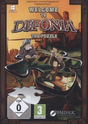 Welcome to Deponia, The Puzzle, DVD-ROM | Dodax.at