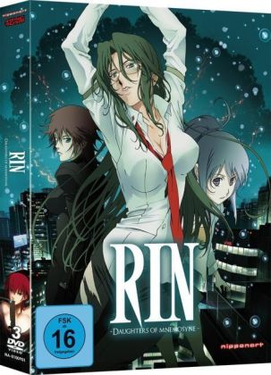 Rin - Daughters of Mnemosyne - Gesamtausgabe, 2 DVDs | Dodax.es