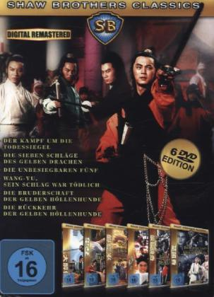 Shaw Brothers Classics, 6 DVDs | Dodax.ch