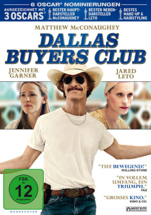 Dallas Buyers Club, 1 DVD | Dodax.fr