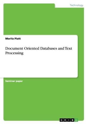 Document Oriented Databases and Text Processing | Dodax.pl