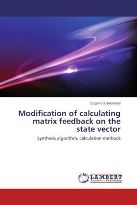Modification of calculating matrix feedback on the state vector | Dodax.at