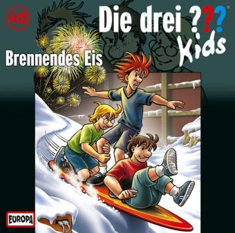 Die drei ???-Kids - Brennendes Eis, Audio-CD | Dodax.at