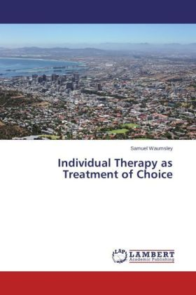 Individual Therapy as Treatment of Choice | Dodax.fr