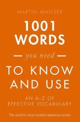 1001 Words You Need To Know and Use | Dodax.de