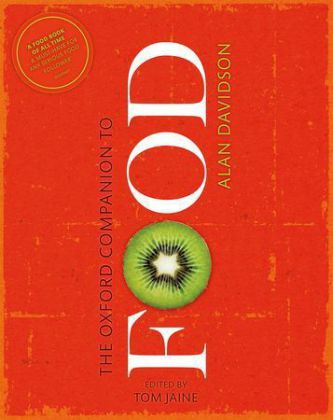 The Oxford Companion to Food | Dodax.nl