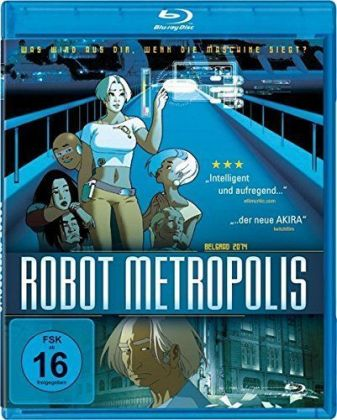 Robot Metropolis, 1 Blu-ray | Dodax.at