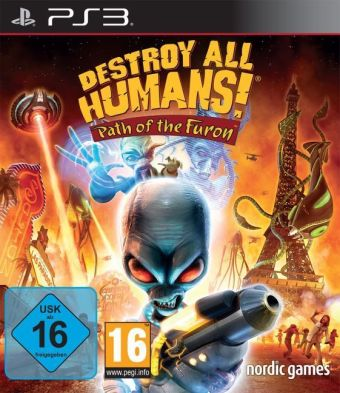 Destroy all Humans: Path of the Furon German Edition - PS3 | Dodax.ch