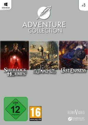 Daedalic Adventure-Collection. Vol.3, DVD-ROM | Dodax.de