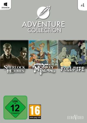 Daedalic Adventure-Collection, DVD-ROM. Vol.1 | Dodax.nl