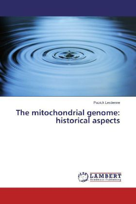The mitochondrial genome: historical aspects | Dodax.ch