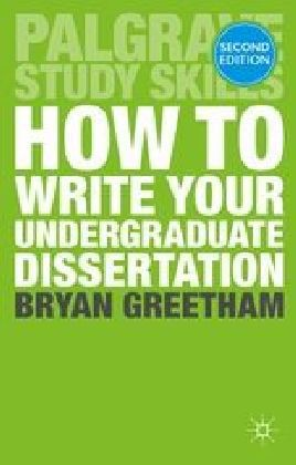 How to Write Your Undergraduate Dissertation | Dodax.at