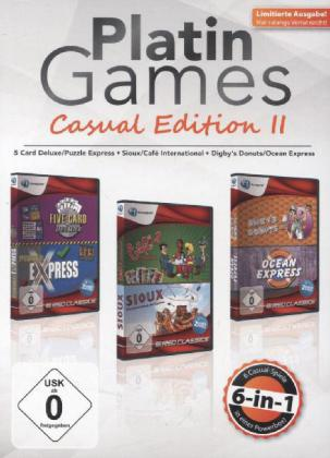 Casual Edition II, 3 DVD-ROMs | Dodax.at
