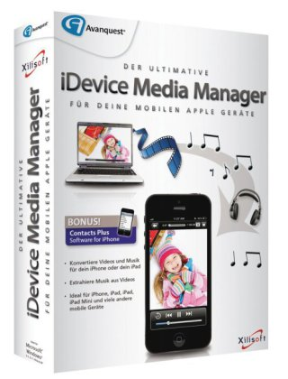 iDevice Media Manager, 1 DVD-ROM | Dodax.ch