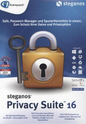 Steganos Privacy Suite 16, 1 DVD-ROM | Dodax.ch