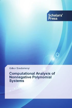 Computational Analysis of Nonnegative Polynomial Systems   Dodax.ch