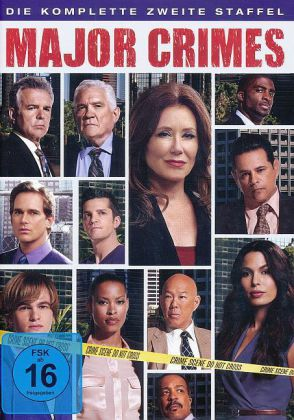 Major Crimes. Staffel.2, 4 DVDs | Dodax.ch