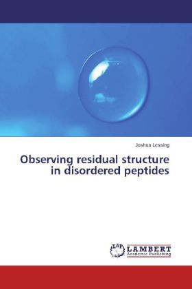 Observing residual structure in disordered peptides | Dodax.ch