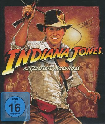 Indiana Jones, The Complete Adventures, 4 Blu-ray | Dodax.ch