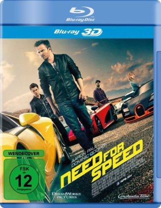 Need for Speed 3D, 1 Blu-ray | Dodax.fr