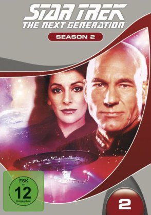 STAR TREK: The Next Generation, 6 DVD. Season.02 | Dodax.fr