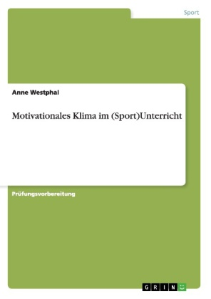 Image of Motivationales Klima im (Sport)Unterricht