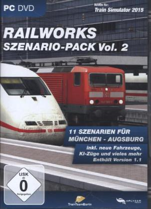 Railworks Scenery Pack, CD-ROM. Vol. 2 | Dodax.fr