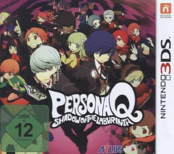 Persona Q: Shadow of the Labyrinth - 3DS | Dodax.ch