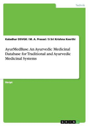 AyurMedBase. An Ayurvedic Medicinal Database for Traditional and Ayurvedic Medicinal Systems | Dodax.pl