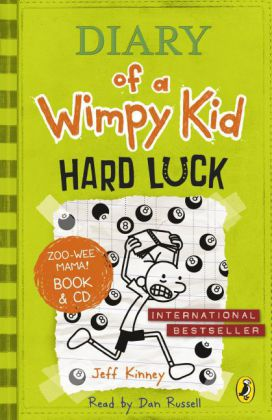 Diary of a Wimpy Kid - Hard Luck, w. Audio-CD | Dodax.com