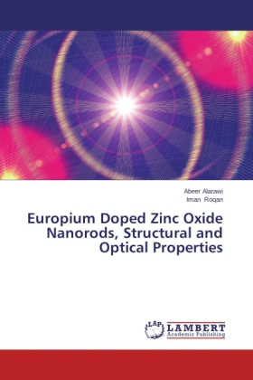 Europium Doped Zinc Oxide Nanorods, Structural and Optical Properties | Dodax.pl