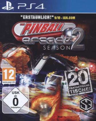 Pinball Arcade Season 2 - PS4 | Dodax.at