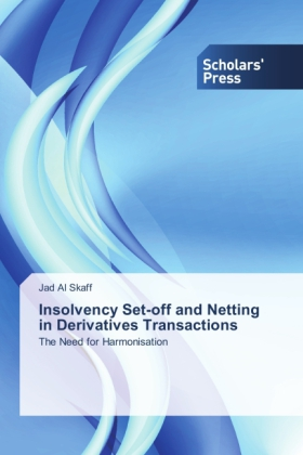 Insolvency Set-off and Netting in Derivatives Transactions | Dodax.at