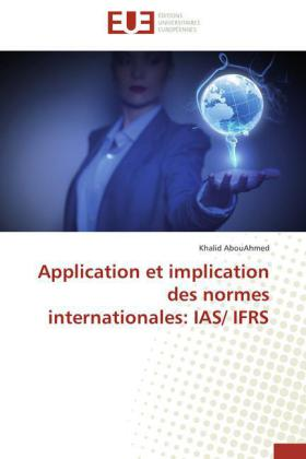 Application et implication des normes internationales: IAS/ IFRS | Dodax.de