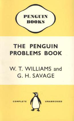 Notebook The Penguin Problems Book - W.T. Williams & G. H. Savage yellow | Dodax.de